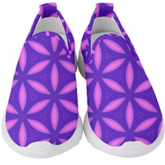 Purple Kids  Slip On Sneakers