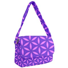 Purple Courier Bag