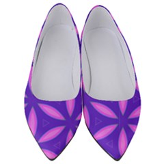 Purple Women s Low Heels