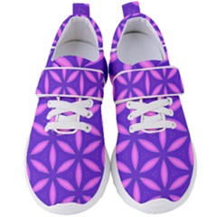 Purple Women s Velcro Strap Shoes