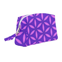Purple Wristlet Pouch Bag (medium)