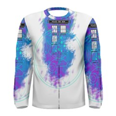 Tattoo Tardis Seventh Doctor Doctor Men s Long Sleeve Tee
