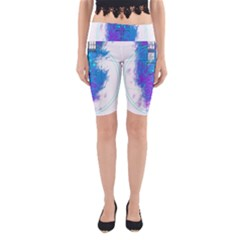 Tattoo Tardis Seventh Doctor Doctor Yoga Cropped Leggings