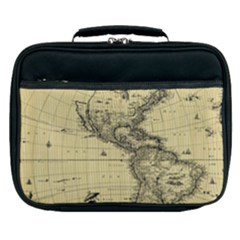 Map Vintage Old Ancient Antique Lunch Bag by Sudhe
