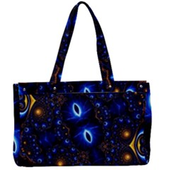 Fun Photo Amazing Art Kaleidoscope Mosaic Canvas Work Bag by Wegoenart