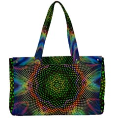 Kaleidoscope Art Unique Design Canvas Work Bag by Wegoenart