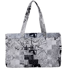Broken Tree Generative Art Justifyyourlove Canvas Work Bag by Wegoenart