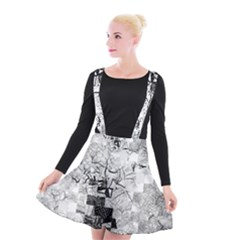 Broken Tree Generative Art Justifyyourlove Suspender Skater Skirt