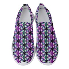 Triangle Seamless Women s Slip On Sneakers
