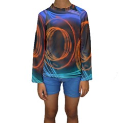 Research Mechanica Kids  Long Sleeve Swimwear