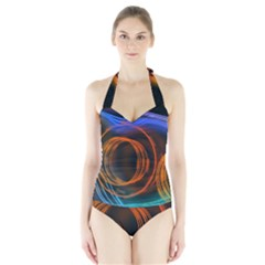 Research Mechanica Halter Swimsuit