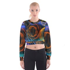 Research Mechanica Cropped Sweatshirt