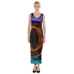 Research Mechanica Fitted Maxi Dress