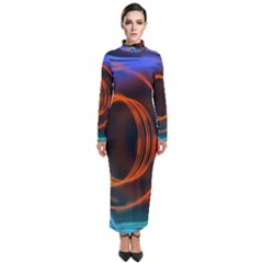Research Mechanica Turtleneck Maxi Dress