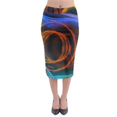 Research Mechanica Midi Pencil Skirt