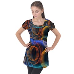 Research Mechanica Puff Sleeve Tunic Top