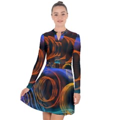Research Mechanica Long Sleeve Panel Dress