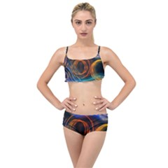 Research Mechanica Layered Top Bikini Set