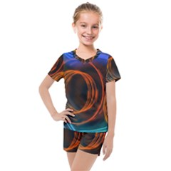 Research Mechanica Kids  Mesh Tee And Shorts Set