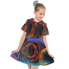 Research Mechanica Kids  Short Sleeve Shirt Dress