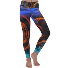 Research Mechanica Kids  Lightweight Velour Classic Yoga Leggings by HermanTelo