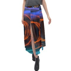 Research Mechanica Velour Split Maxi Skirt