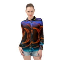 Research Mechanica Long Sleeve Chiffon Shirt