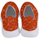 Motivational Happy Life Words Pattern No Lace Lightweight Shoes View4