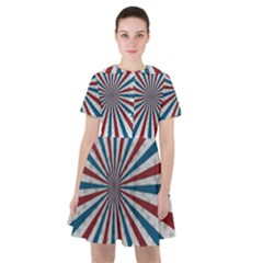 Usa Deco Background Sailor Dress