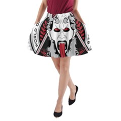 Krampus A-line Pocket Skirt