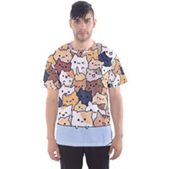 Cat Kitten Men s Sports Mesh Tee by Bejoart