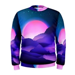 Mountain Sunrise Mountains Sunrise Men s Sweatshirt
