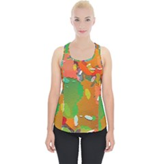 Background Colorful Abstract Piece Up Tank Top by Simbadda