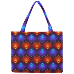 Background Colorful Abstract Mini Tote Bag by Simbadda