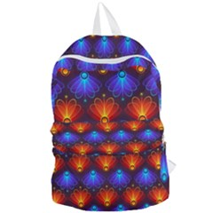 Background Colorful Abstract Foldable Lightweight Backpack by Simbadda