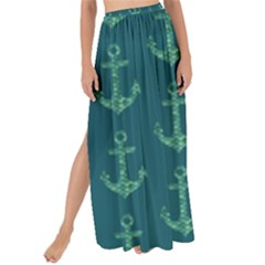Mermaid Anchors Maxi Chiffon Tie Up Sarong by VeataAtticus