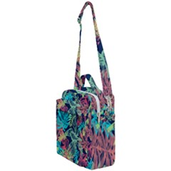 Leaves Tropical Picture Plant Crossbody Day Bag by Simbadda