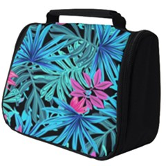 Leaves Picture Tropical Plant Full Print Travel Pouch (big) by Simbadda