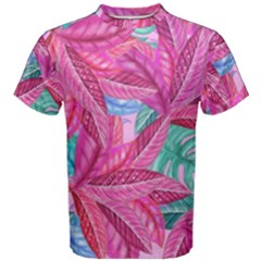 Leaves Tropical Reason Stamping Men s Cotton Tee