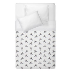 Cycling Motif Design Pattern Duvet Cover (single Size)