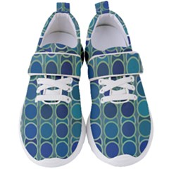 Blue Circles Women s Velcro Strap Shoes by TimelessFashion