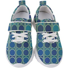 Blue Circles Kids  Velcro Strap Shoes by TimelessFashion