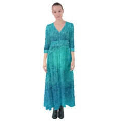Blue Destiny Button Up Maxi Dress