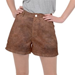 Brown Effect Ripstop Shorts