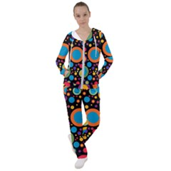 Colorful Circles Women s Tracksuit
