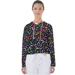 Colorful Diamonds Women s Slouchy Sweat