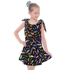 Colorful Diamonds Kids  Tie Up Tunic Dress by TimelessFashion