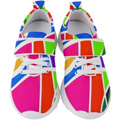 Colory Chaos Kids  Velcro Strap Shoes by TimelessFashion