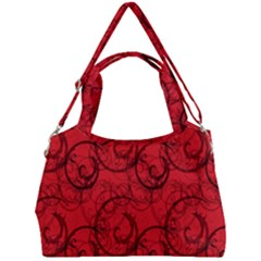Curly In Red Double Compartment Shoulder Bag by TimelessFashion