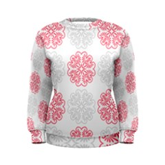 Cute Floral Design Women s Sweatshirt by TimelessFashion